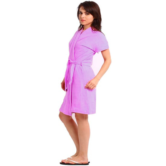 Violet Orchid Bathrobe
