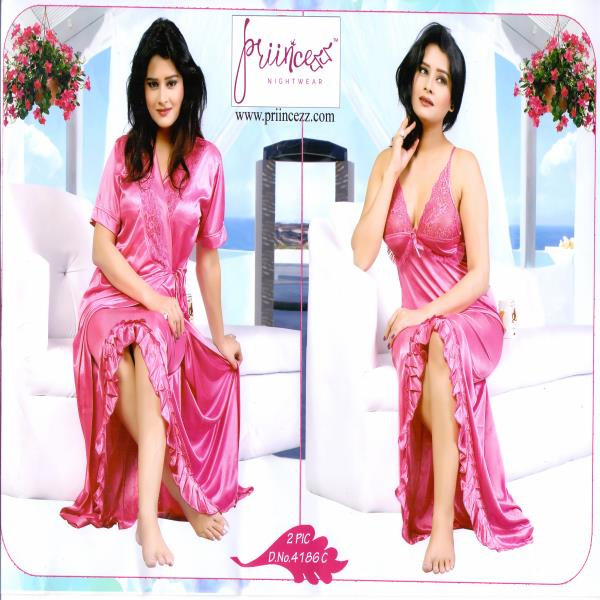 Fashionable Two Part Night Dress