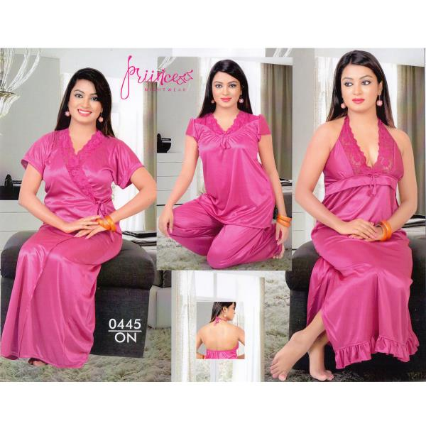 Fashionable Four Part Nighty-0445 ON
