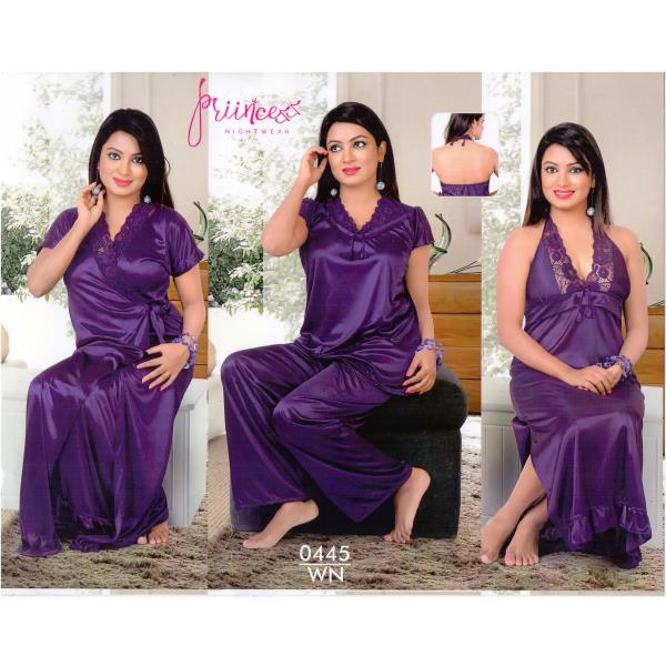 Fashionable Four Part Nighty-0445 WN