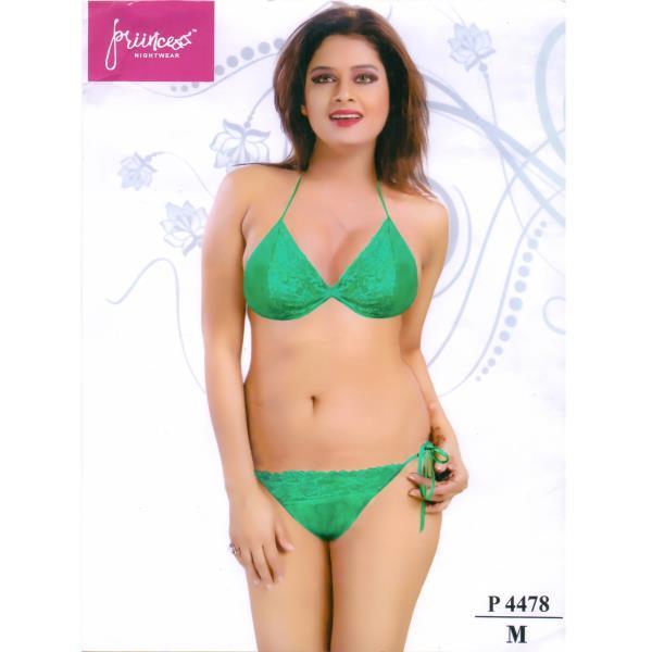 Fashionable Bra Panty Bikini Set-P 4478 M