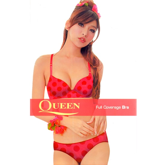 Queen Bra Panty Set