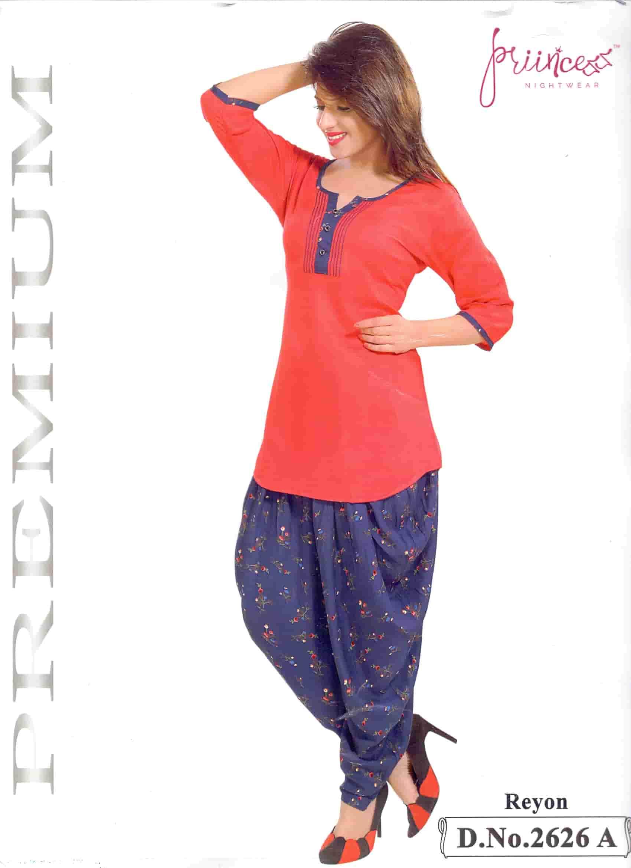 Fashionable Dhuti Kurti-2626 A