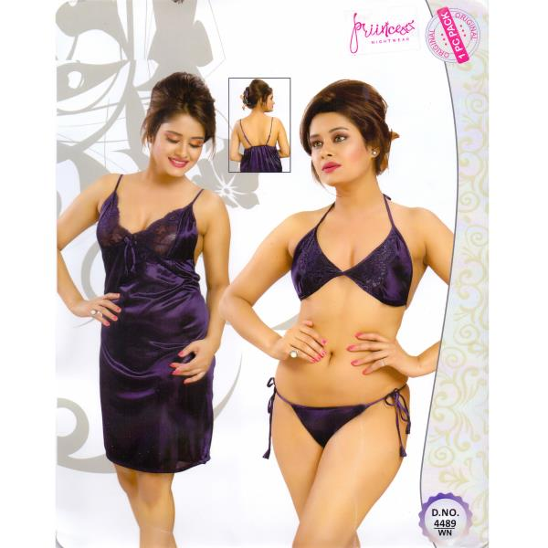 Fashionable Hot Nighty-4489 WN