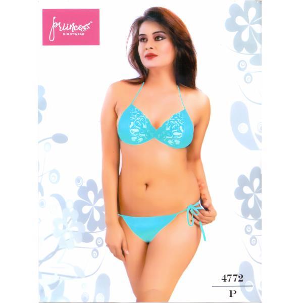 Fashionable Bra Panty Bikini Set-4772 P
