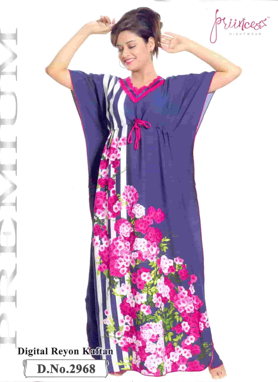 Fashionable One Part Kaftan-2968