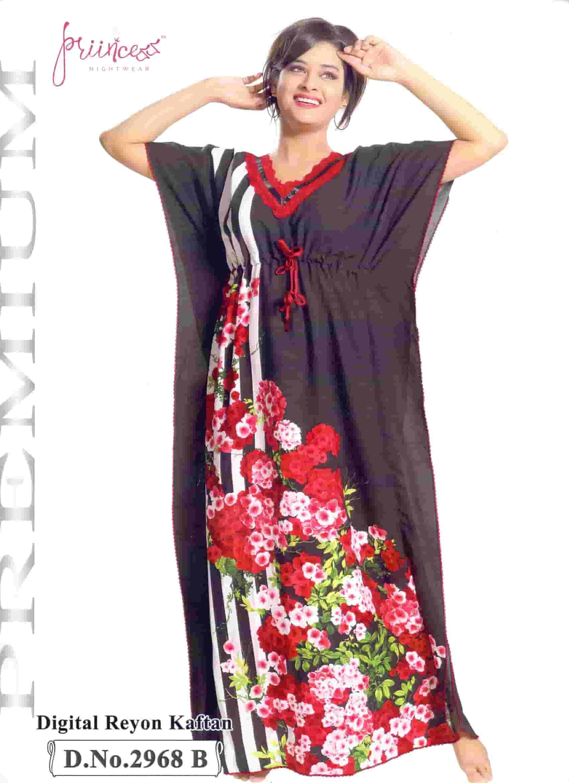 Fashionable One Part Kaftan-2968 B