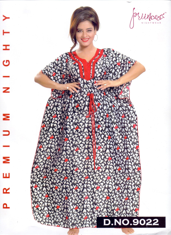 Fashionable One Part Kaftan-9022