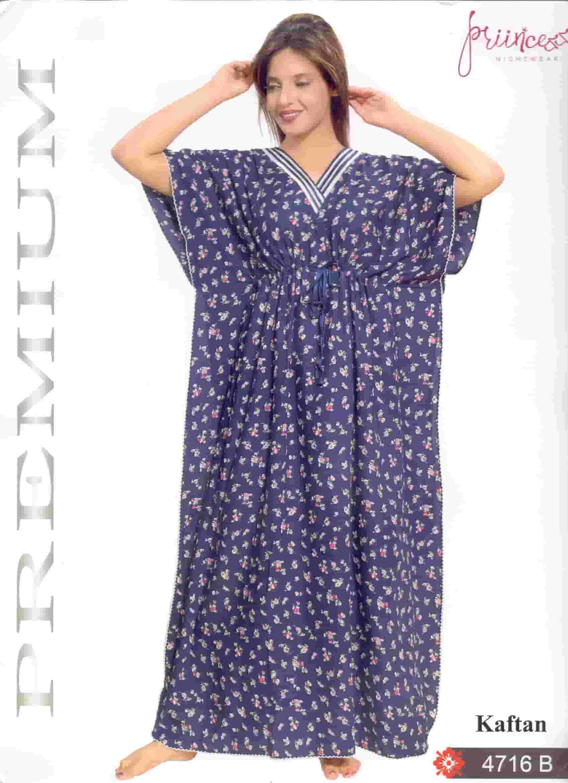Fashionable One Part Kaftan-4716 B