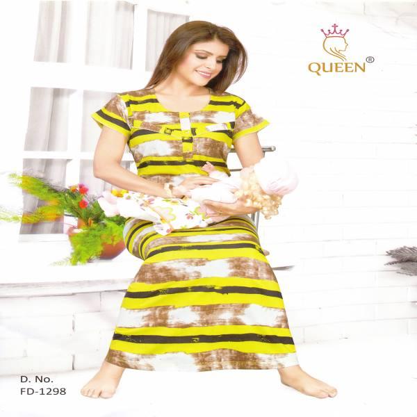 Rich Cotton Maternity Nightwear-FD 1298