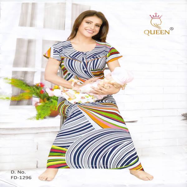 Rich Cotton Maternity Nightwear-FD 1296