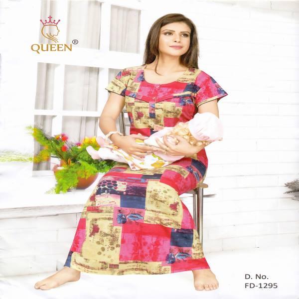 Rich Cotton Maternity Nightwear-FD 1295