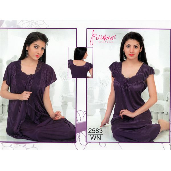 Fashionable Two Part Nighty-2583 WN