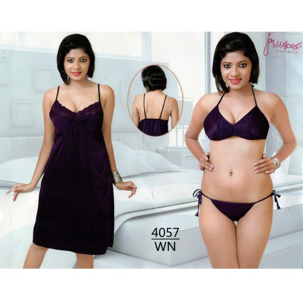 Three Part Nighty-4057 WN