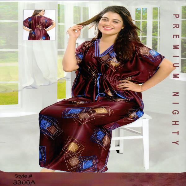 Fashionable One Part Kaftan-3306 A