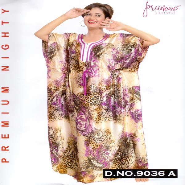 Fashionable One Part Kaftan-9036 A