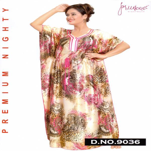 Fashionable One Part Kaftan-9036