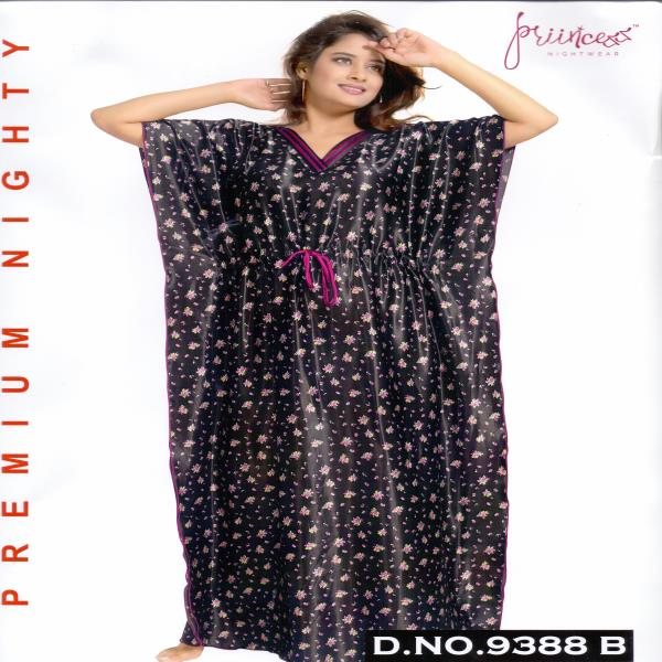 Fashionable One Part Kaftan-9388 B