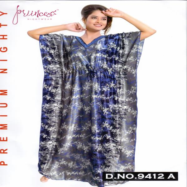 Fashionable One Part Kaftan-9412 A