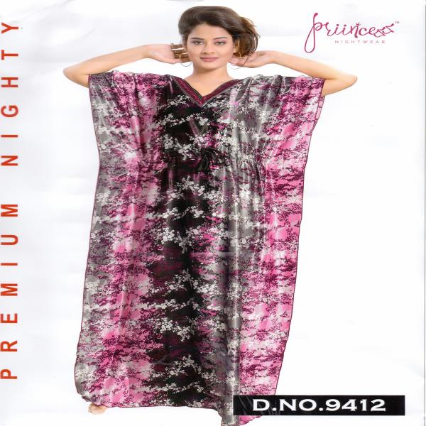 Fashionable One Part Kaftan-9412