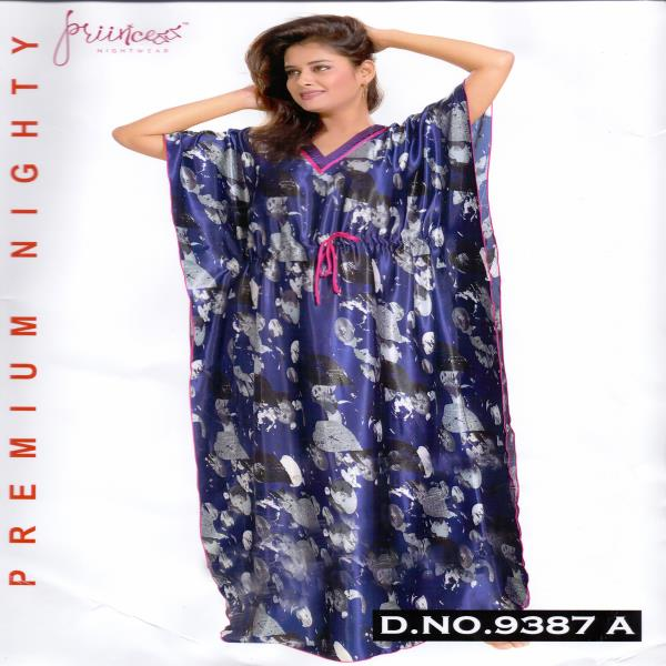 Fashionable One Part Kaftan-9387 A