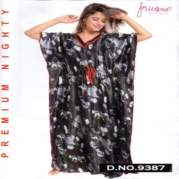 Fashionable One Part Kaftan-9387