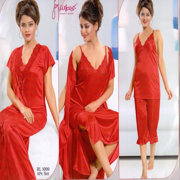 Honeymoon Nightwear-1009 Red