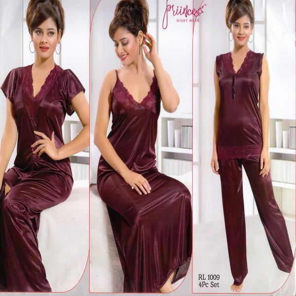 Honeymoon Nightwear-1009 Chocolate