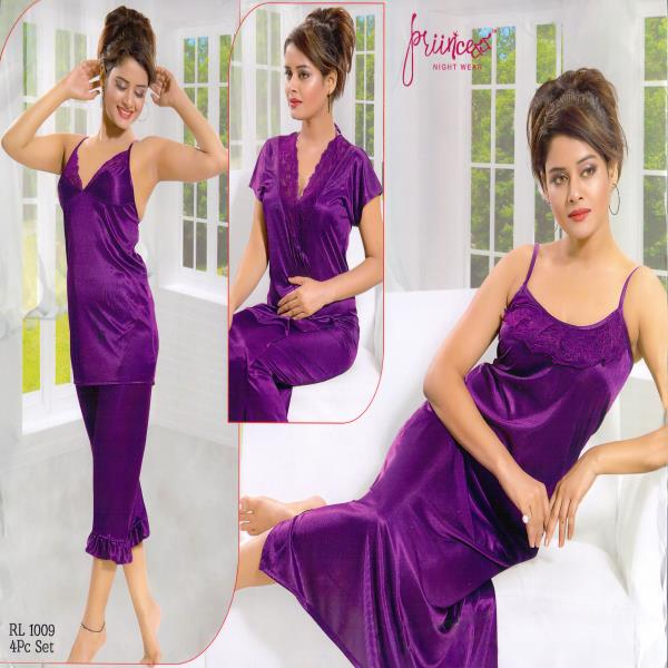 Honeymoon Nightwear-1009 Violet