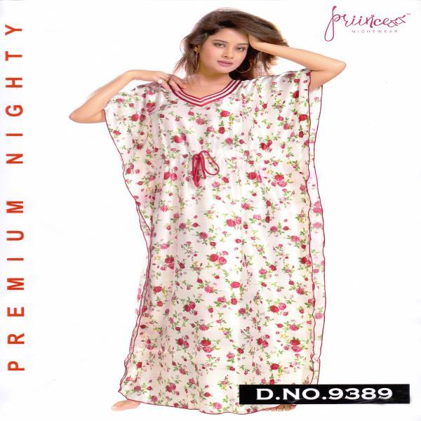 Fashionable Satin Kaftan-9389