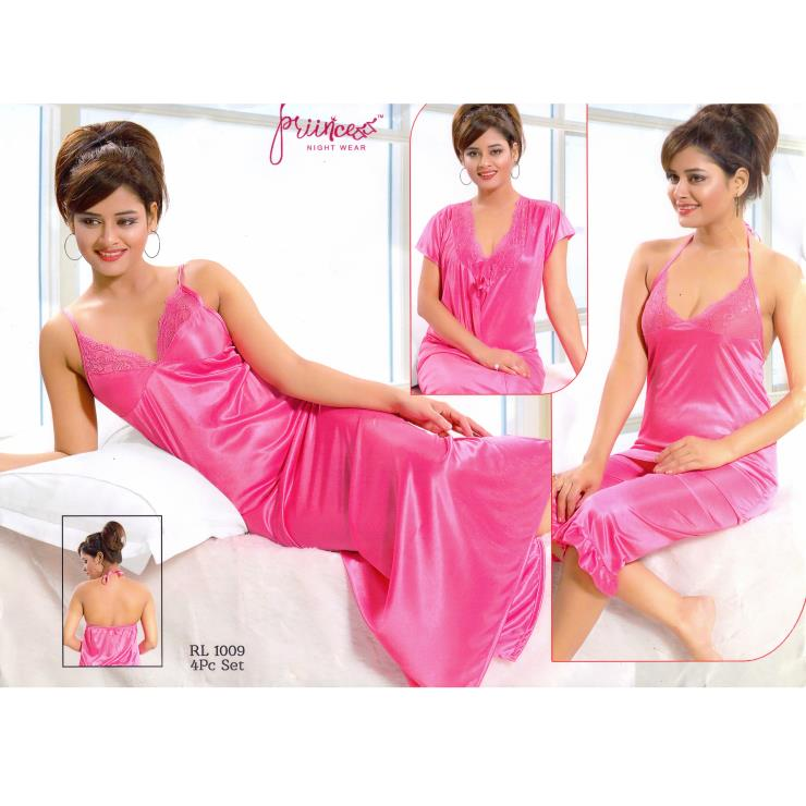 Honeymoon Nightwear-1009 Pink Rose
