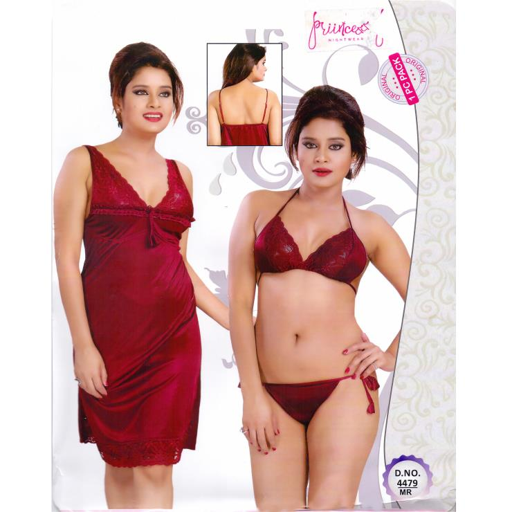 Fashionable Hot Nighty-4479 MR