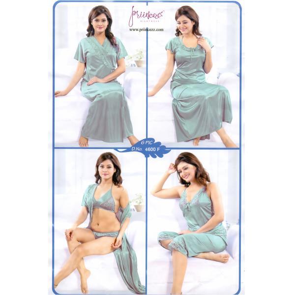 Fashionable Six Part Nighty-4600 F