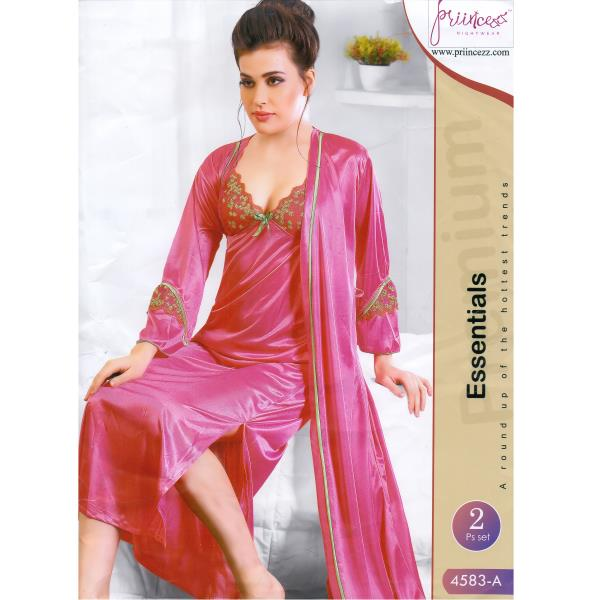 Fashionable Two Part Nighty-4583 A