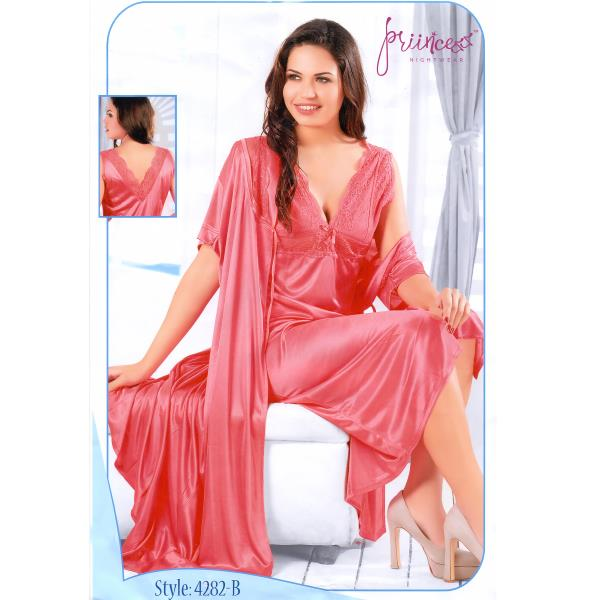 Fashionable Two Part Nighty-4282B