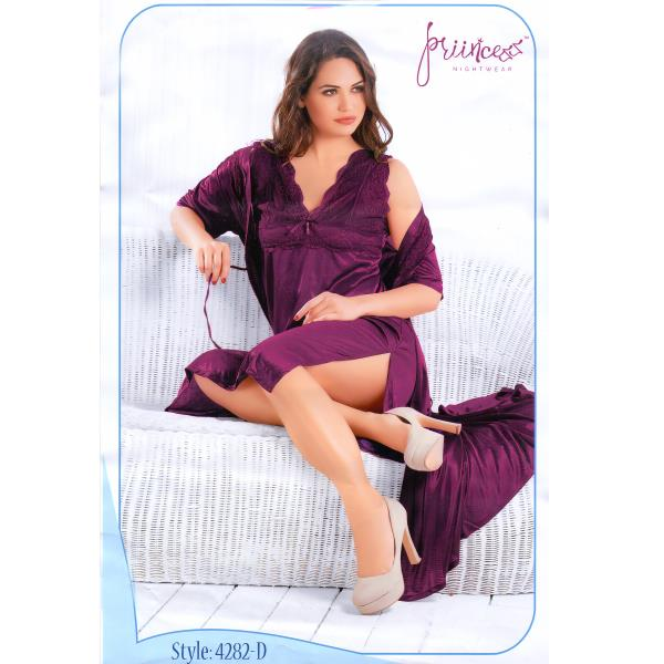 Fashionable Two Part Nighty-4282D