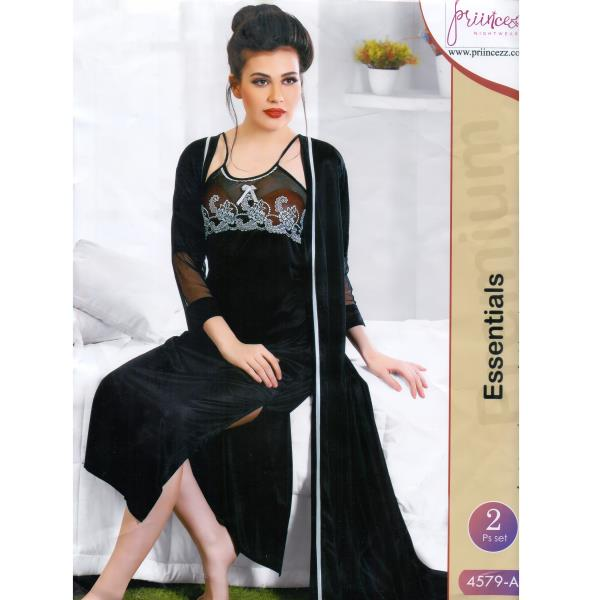 Fashionable Two Part Nighty-4579 A