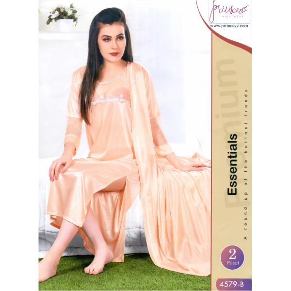 Fashionable Two Part Nighty-4579 B