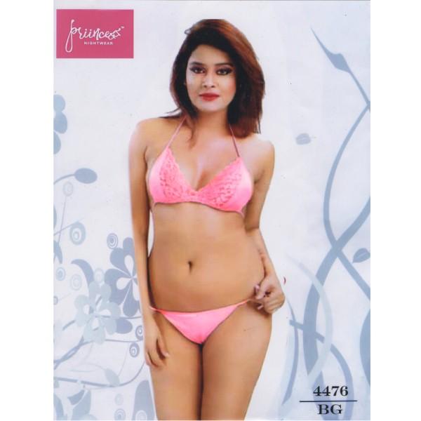 Fashionable Bra Panty Bikini Set-4476 BG