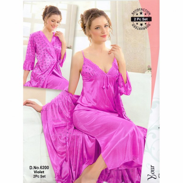 Two Part Nighty-6200 Violet