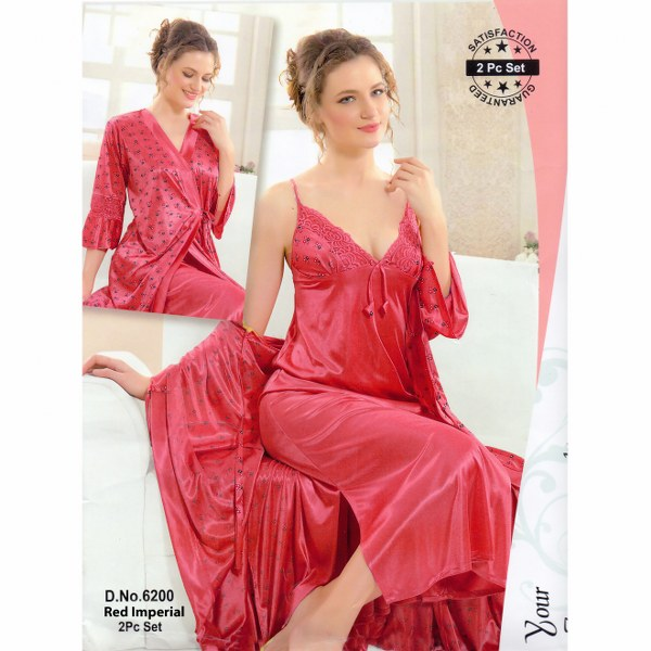 Two Part Nighty-6200 Red Imperial
