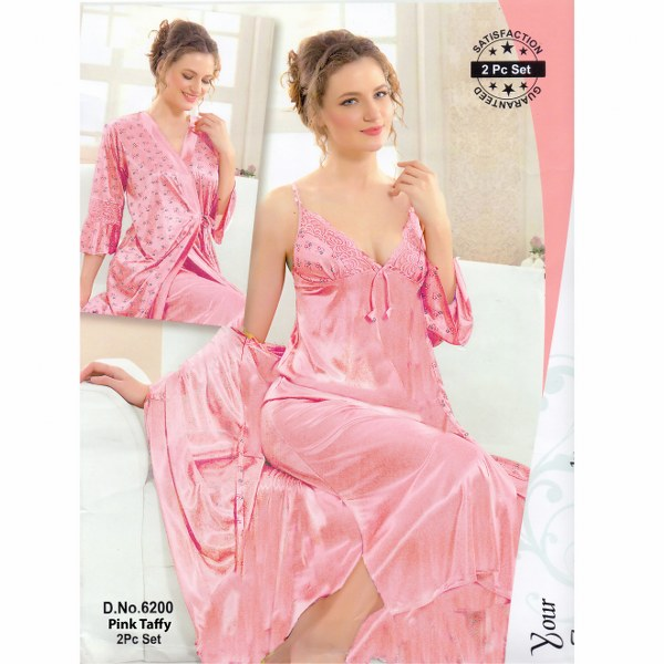 Two Part Nighty-6200 Pink Taffy