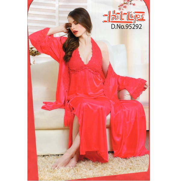 Two Part Nighty-95292 Red Imperial