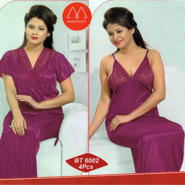 Fashionable Two Part Nighty-6002