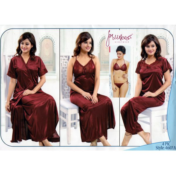 Fashionable Six Part Nighty-4607-A