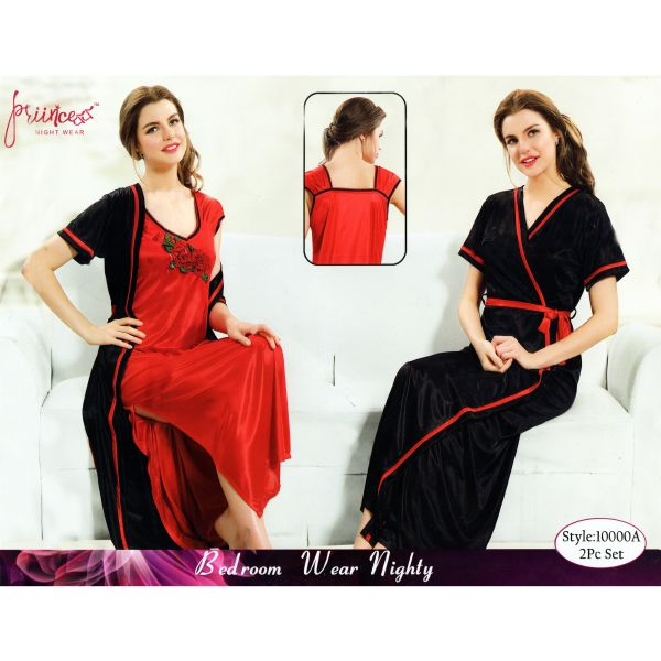 Fashionable Two Part Nighty-10000 A