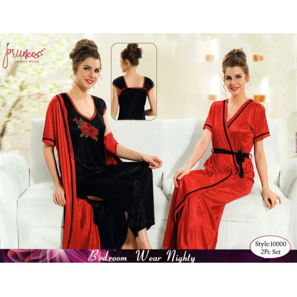 Fashionable Two Part Nighty-10000