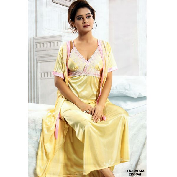 Fashionable Two Part Nighty-3974 A