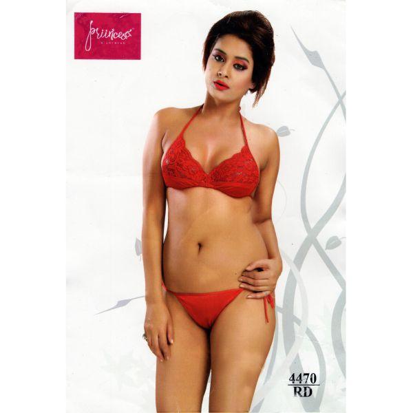Fashionable Bikini Set-4470 RD