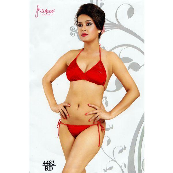 Fashionable Bikini Set-4482 RD